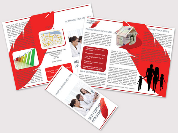 red-trifold-brochure-design