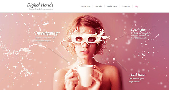 21 Fresh Examples of CSS Web Design from 2011