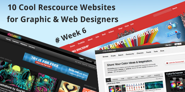 2011 Best Web Sites For Graphic and Web Designers