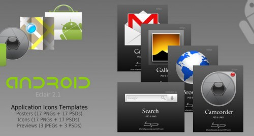 Android Icons: 10+ Useful Free Android Icon Packs