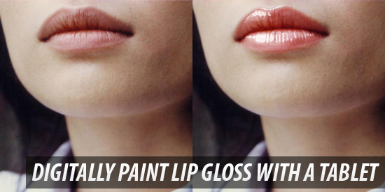 how_to_digitally_paint_lip_gloss_with_a_tablet photoshop