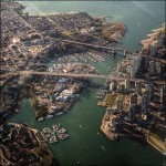 Granville-Island-and-False-Creek Amazing Aerial Photography