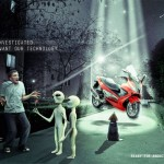 gilera-abduction advertising