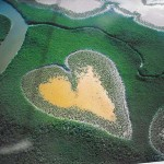 heart Amazing Aerial Photography