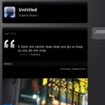 iBlack Tumblr Theme