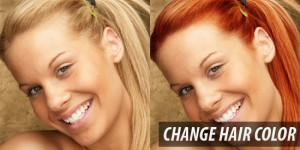 photoshop change_hair_color