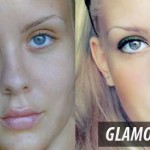 photoshop glamour_model