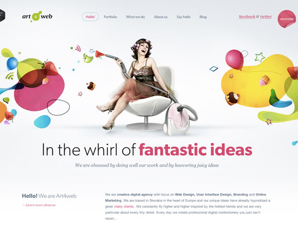 23 Top Web Page Backgrounds with Single Colored