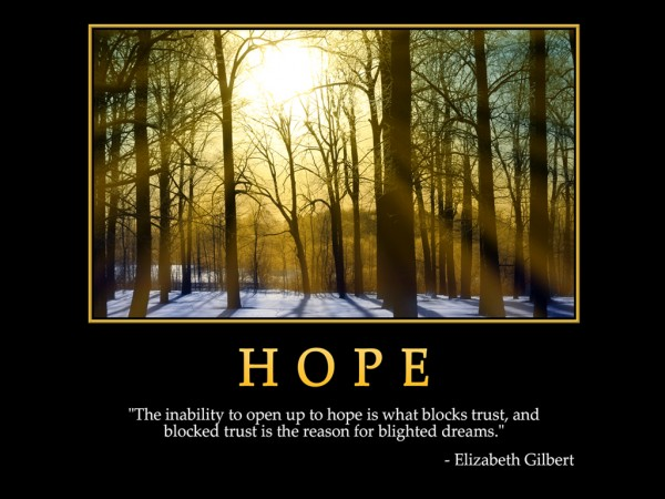 Hope quotes Inspirational quotes about hope