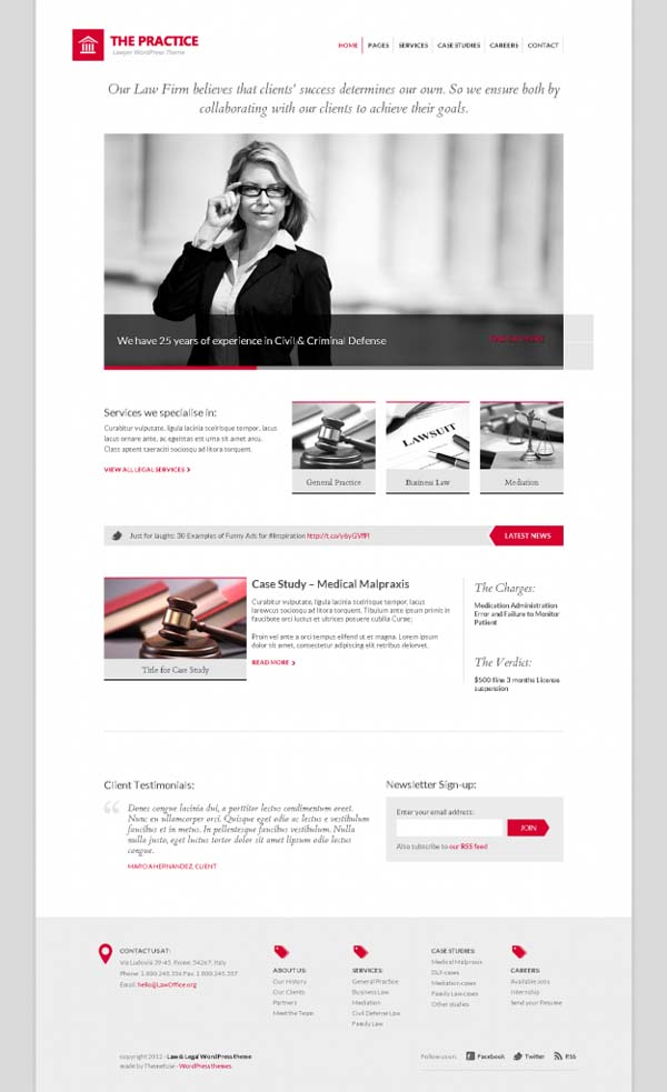 Free WordPress Themes August 2012