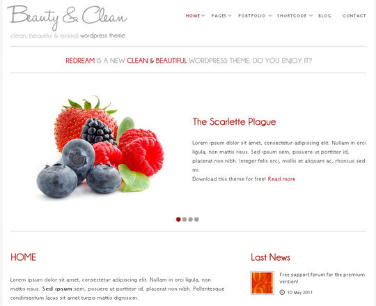 WordPress Themes August