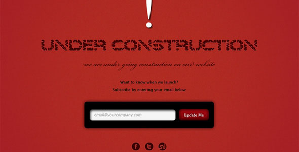 15 Useful And Creative Under Construction Templates