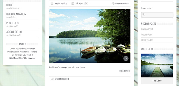 Bello WordPress Theme