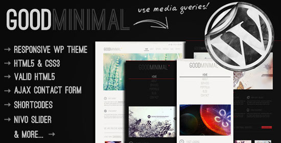 Premium Like Yet Absolutely Free Minimalist WordPress Themes