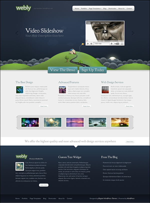 Webly seo theme