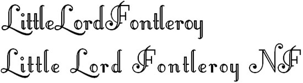 little lord fonts