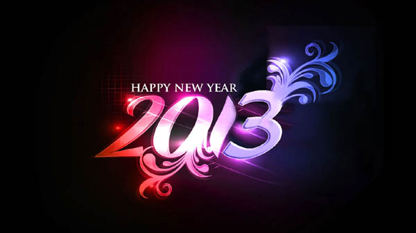 2013 New Year HD Wallpapers