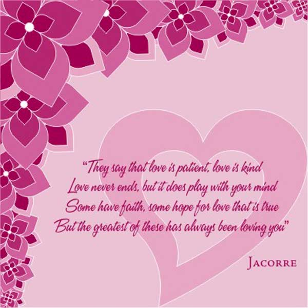 Romantic and loving valentine day love quotes themescompany for Quotes on valentine day
