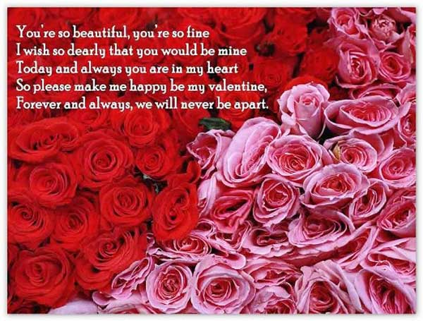 Romantic And Loving Valentine Day Love Quotes – Valentine Day Sayings for Cards