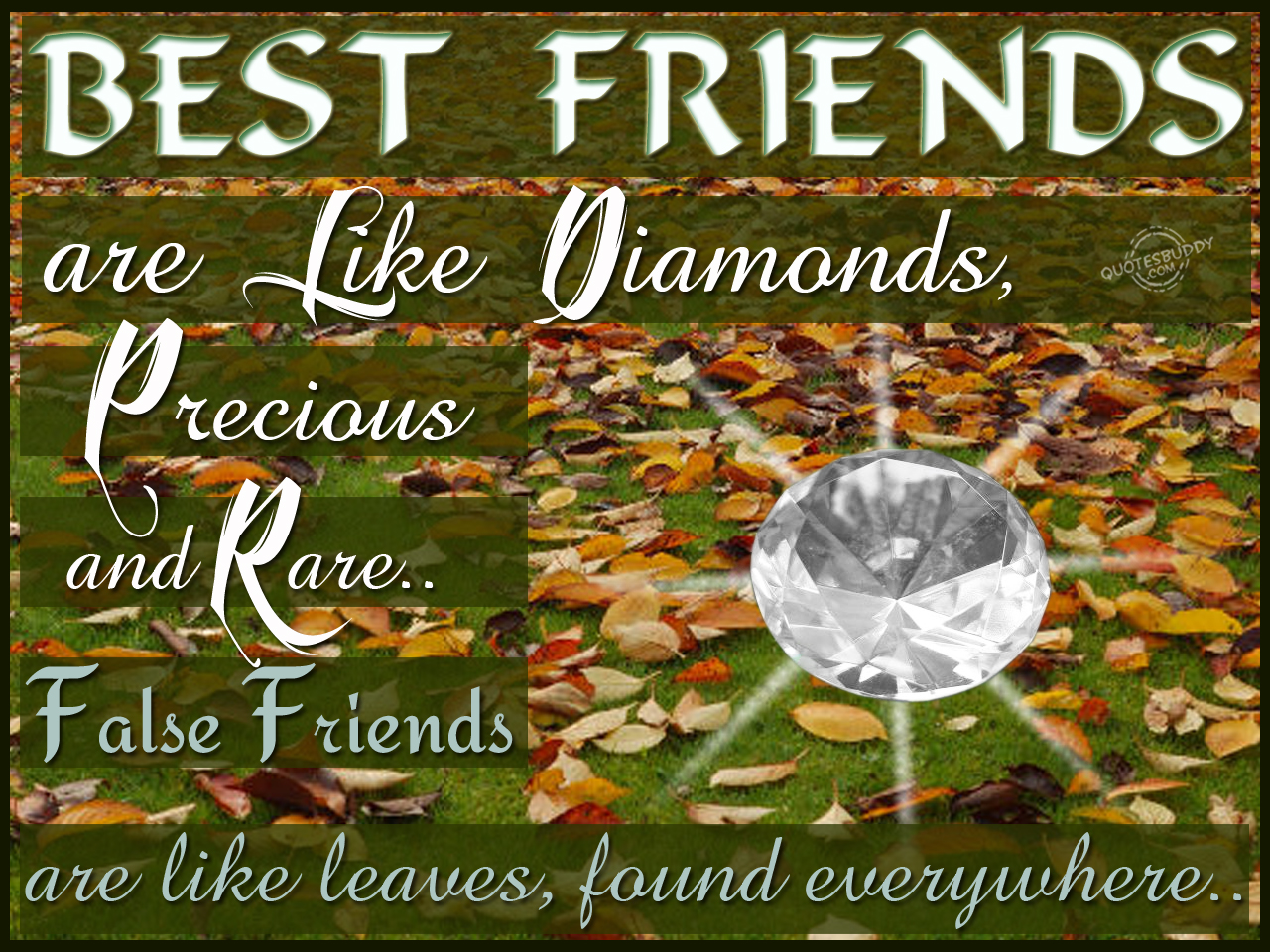 Ideal best Friend Quotes
