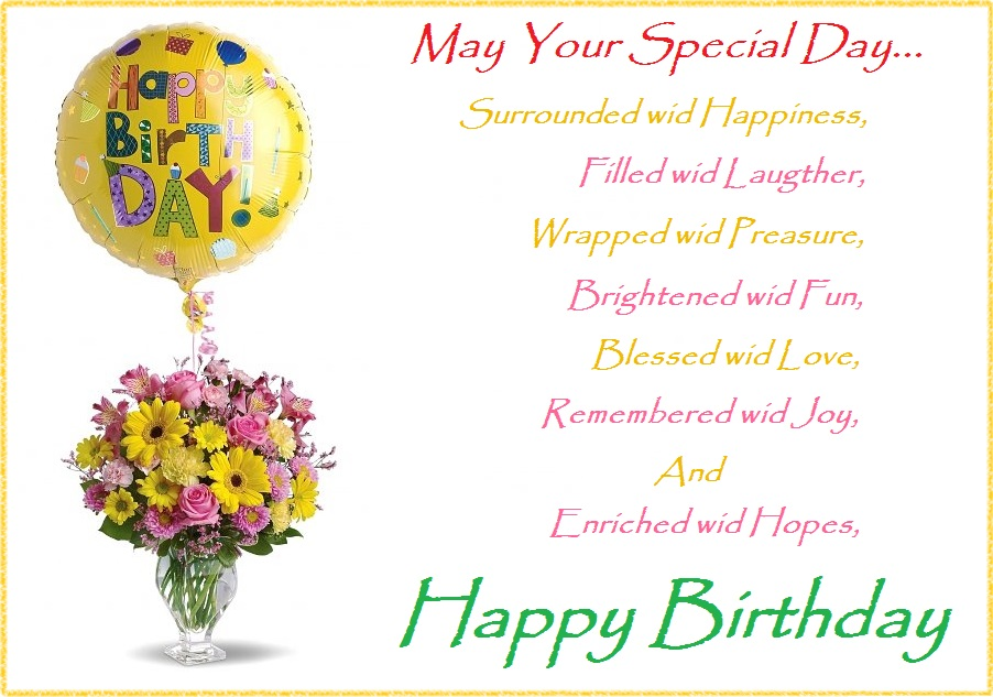 Best Happy Birthday Wishes For Friends – Special Birthday Greeting
