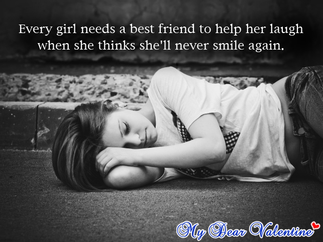 sad best friend quotes for girls - photo #2