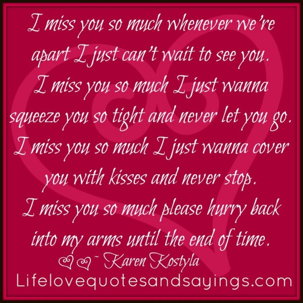 I Love You Quotes Heart Touching : Heart Touching Miss You Quotes For You ThemesCompany