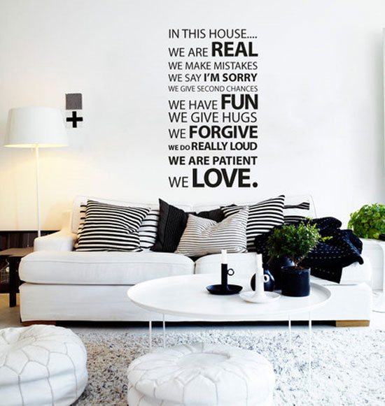 Creative and inspiration wall quotes for bedroom for Bedroom vinyl quotes