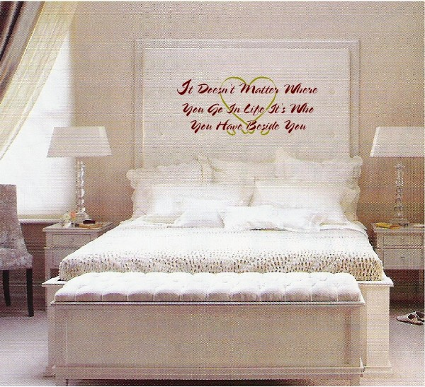 wall quotes for bedroom