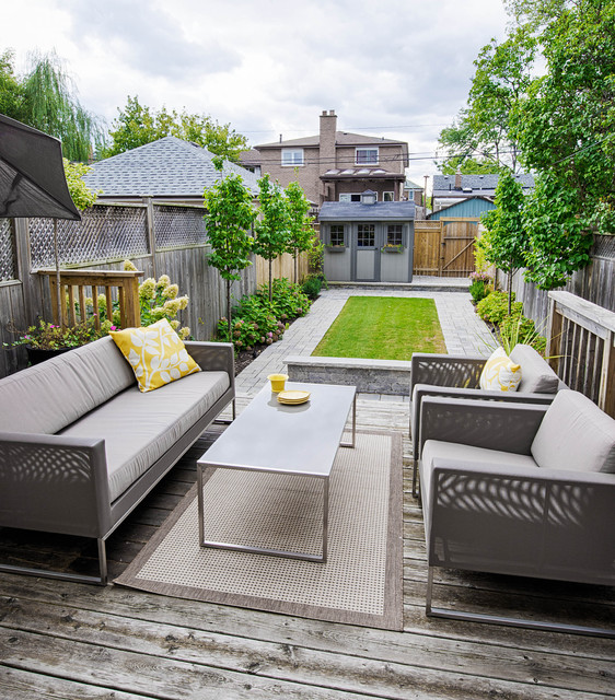 Small City Backyard Ideas :  And Comfortable Design Ideas for Small City Backyards  ThemesCompany