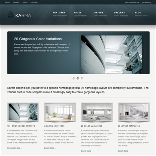 Clean Business Website Template Psd: 30 Most Unique And Best For Business Website Templates