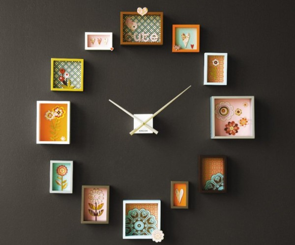 30 Creative And Stylish Wall Clock Designs | Themescompany