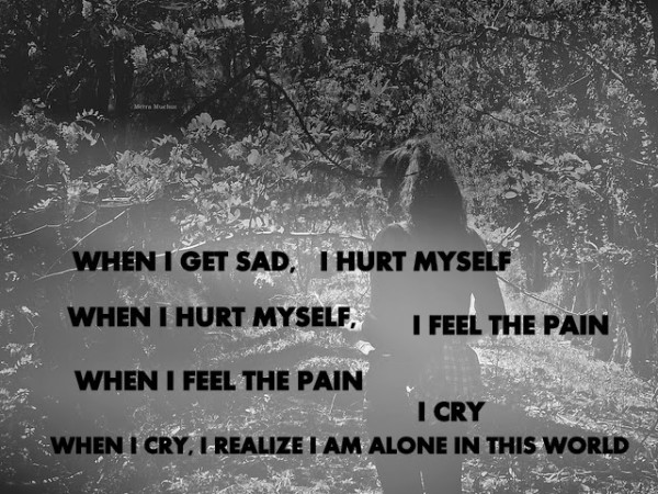 sad alone girl quotes - photo #4