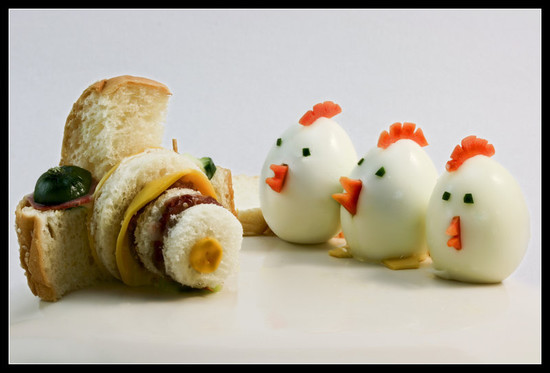 Amazing and cool ideas for food art themescompany for Creation cuisine