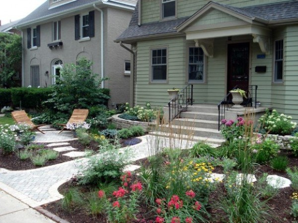 Design great google small yard landscaping ideas for Curb appeal garden designs