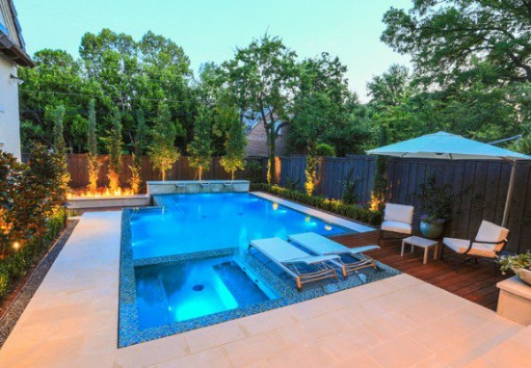 Eye catching and cool ideas of pool design for backyard for Pool edges design