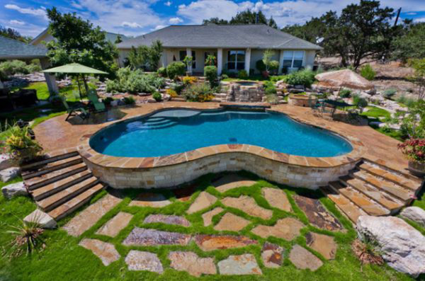 cool backyard pool - Cool House Pools