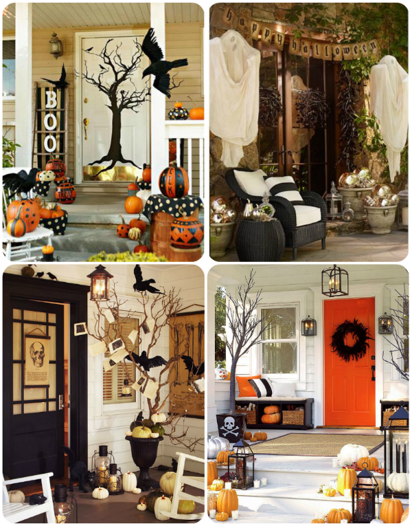 30 Fall Porch Decorating Ideas Top 10 Pro Decorating Tips: Mysterious And Creepy Front Porch Decorating Ideas For Halloween