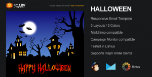 Scary Email Template from Themeforest